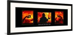 Valor: Firefighter Triptych
