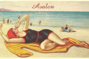 Vamp on the Beach in Avalon