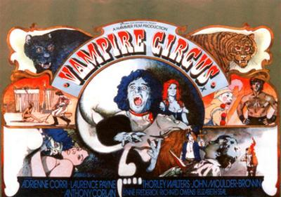 Vampire Circus, Anthony Corlan (Center), 1972