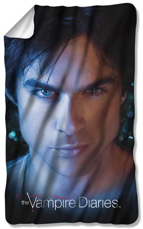 Vampire Diaries - Damon Eyes Fleece Blanket