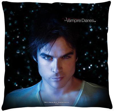 Vampire Diaries - Damon Eyes Throw Pillow