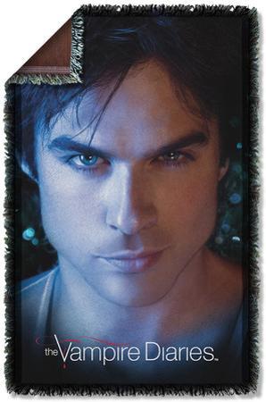 Vampire Diaries - Damon Eyes Woven Throw
