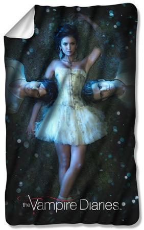 Vampire Diaries - Why Choose Fleece Blanket