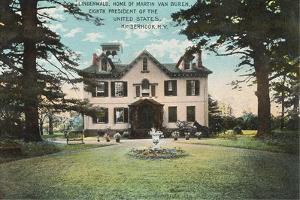 Van Buren's House, Kinderhook