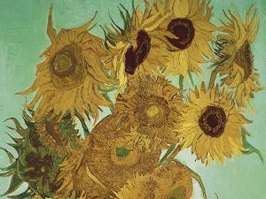 Sunflowers, 1888  - Focus by Van Gogh Vincent