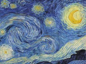 The Starry Night, June 1889 - Focus by Van Gogh Vincent