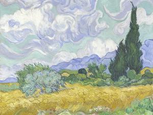 Van Gogh, Wheatfield with Cypress