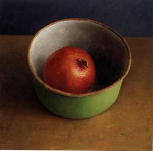 Green Bowl II by Van Riswick