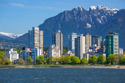 Vancouver Across English Bay