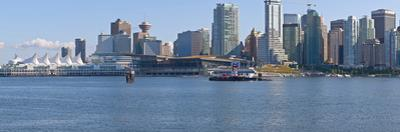 Vancouver skyline at waterfront, British Columbia, Canada
