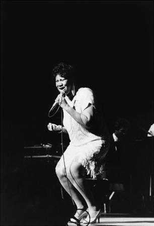 Aretha Franklin - 1985 by Vandell Cobb