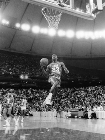 Michael Jordan - 1987 by Vandell Cobb