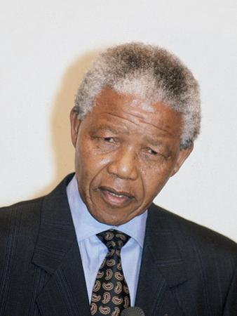 Nelson Mandela, 1993 by Vandell Cobb