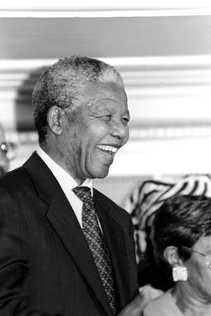 Nelson Mandela by Vandell Cobb