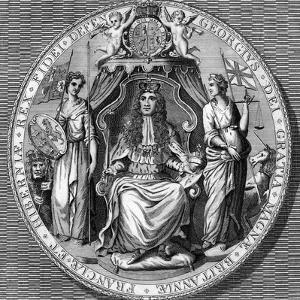 The Great Seal of King George I by Vandroit