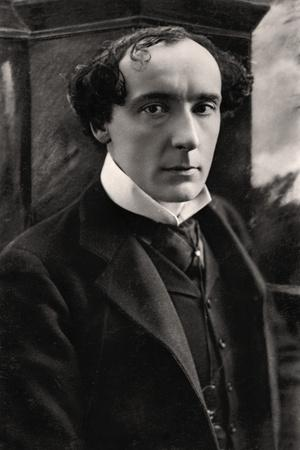 Harry Brodribb Irving (1870-191), English Actor, Early 20th Century