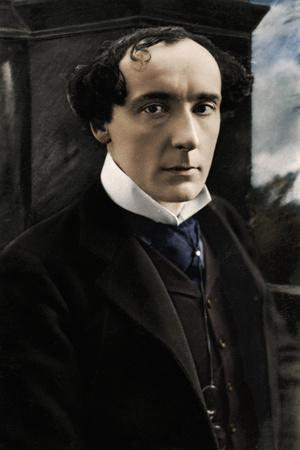 Harry Brodribb Irving (1870-1919), English actor, early 20th century