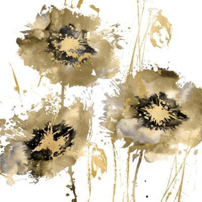 Flower Burst Trio in Gold by Vanessa Austin