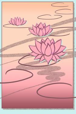 Vaporwave Lotus