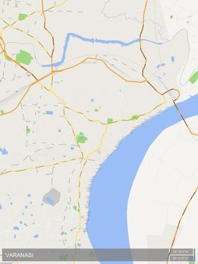 Varanasi, India Map