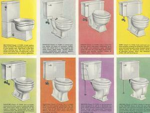 Variety of Toilets