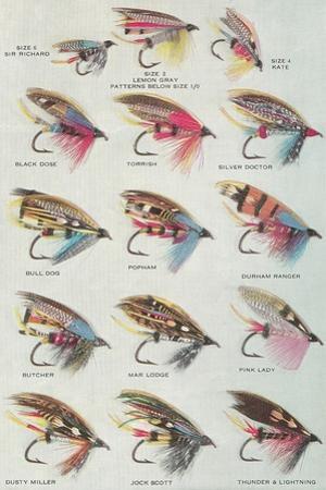 Various Dry Flies