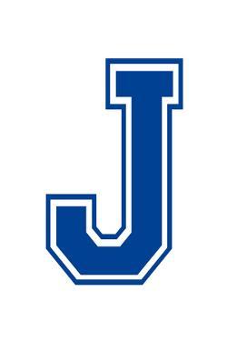 Varsity Letter J Make Your Own Banner