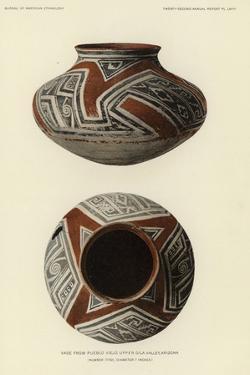 Vase from Pueblo Viejo, Gila Valley, Arizona