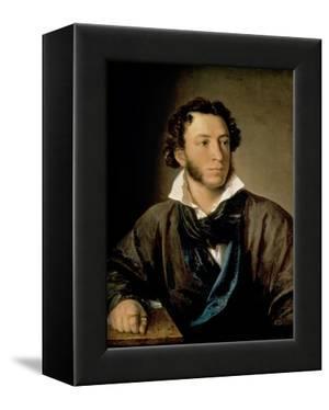 Portrait of Alexander Pushkin (1799-1837) by Vasili Andreevich Tropinin
