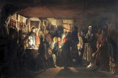 A Sorcerer Comes to a Peasant Wedding, 1875