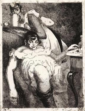 Lady of the Manor. from the Series the Seven Deadly Sins, 1923 by Vasili Nikolayevich Masyutin