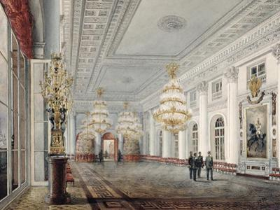 The Great Hall, Winter Palace, St. Petersburg, 1837