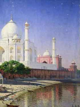 Taj Mahal by Vasili Vasilievich Vereshchagin