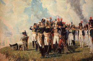 Napoleon Bonaparte on the Borodino Hights by Vasili Vasilyevich Vereshchagin