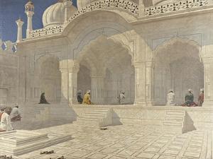 The Pearl Mosque (Moti Masji), Delhi, 1880S by Vasili Vasilyevich Vereshchagin