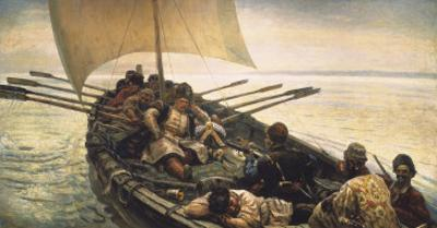 Stenka Razin Sailing in the Caspian Sea