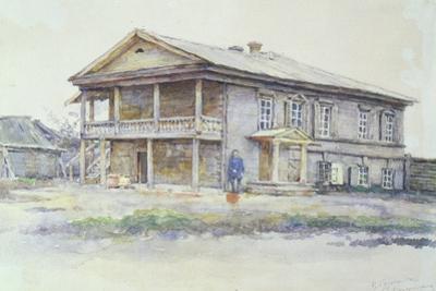 Surikov's House at Krasnoyarsk, 1890-91