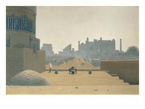 Main Street in Samarkand, Early Morning, 1869-70 by Vasilij Vereshchagin