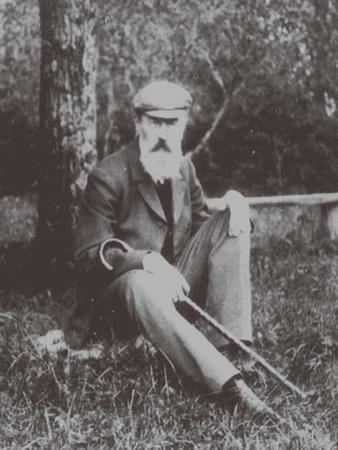 Composer Nikolai Rimsky-Korsakov (1844-190) in Vechasha, 1904