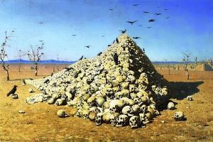Apotheosis of the War, 1871 by Vasily Vereshchagin