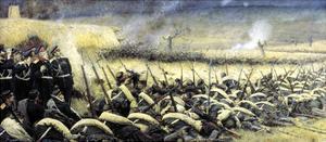 Before the Offensive. Near Pleven, 1877-1878 by Vasily Vereshchagin