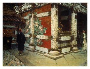 Shinto Temple in Nikko by Vasily Vereshchagin