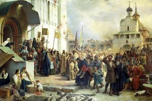 The Siege of the Trinity Sergius Lavra in Sergiev Posad, 1891 by Vasily Vereshchagin