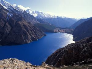 Phoksumdo Lake Dolpo, Nepal by Vassi Koutsaftis