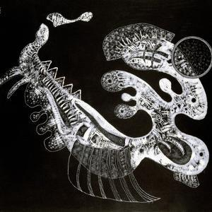 Black and White, 20th Century by Vassily Kandinsky