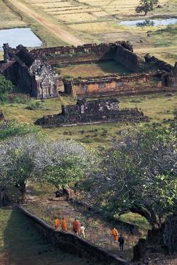 Vat Phou or Wat Phu (Temple of Mountain) (Unesco World Heritage List, 2001), Champasak, Laos