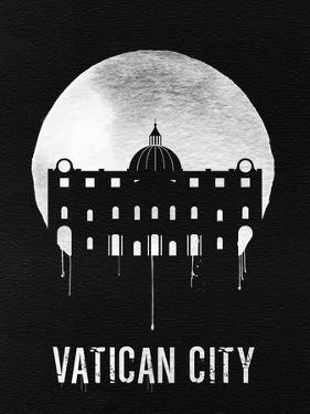 Vatican City Landmark Black