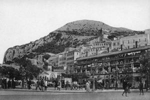 Casemates Square, Gibraltar, Early 20th Century by VB Cumbo
