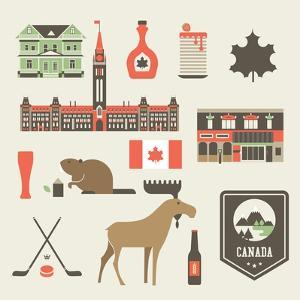 Canada Icons by vector pro