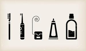 Mouth And Teeth Care Icons by vector pro